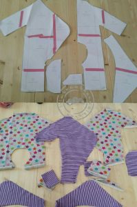 Baby Strampler / Baby Jumper Freebook