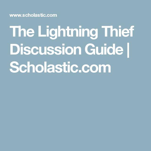 The Lightning Thief Discussion Guide | Scholastic.com