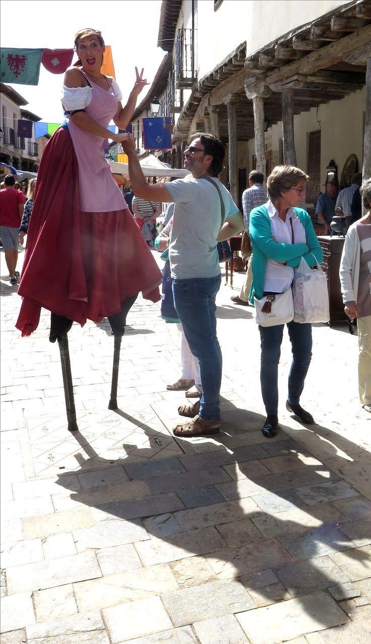 Sombras gigantes en Ampudia (Palencia)