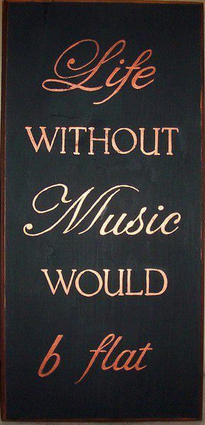 We need music!