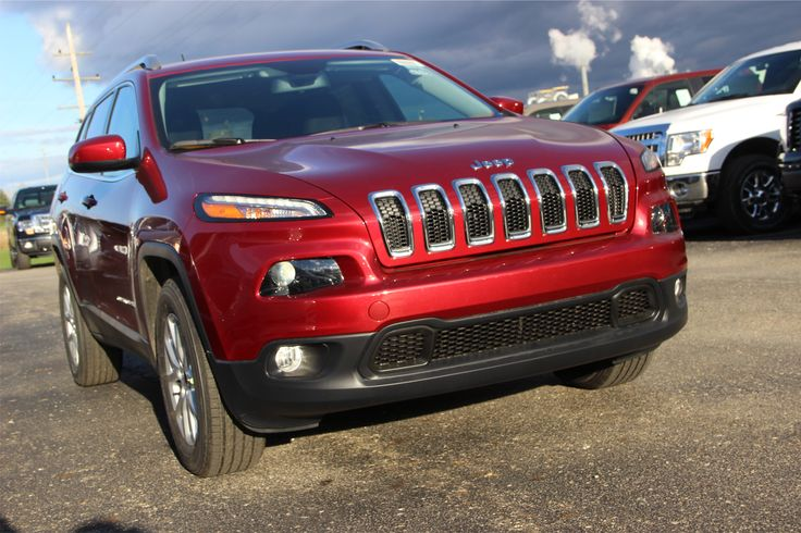 Deep Cherry Red Crystal P/Coat Jeep Cherokee Latitude 4x4