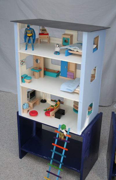 Action Figure House Hide Out Instead Of Dollhouse Diy My Diy