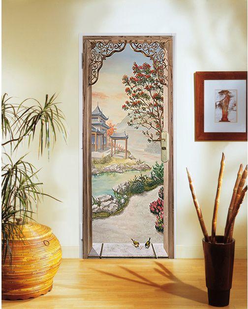 Les 25 meilleures id es concernant porte blind e sur pinterest agencement d - Comment decorer une porte interieure ...