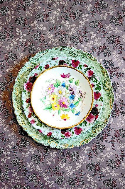 flower patterns mix