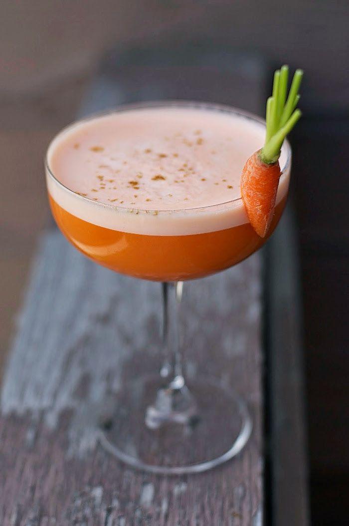 Frank the Rabbit Cocktail: Bourbon, Toasted Cumin, Carrot, Amaro, Orange Bitters - 10th Kitchen