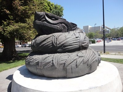 Quetzalcoatl  - San Jose, CA - some say it looks like a giant dog feces.