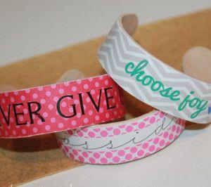 Fashion Popsicle Stick Craft Bracelet