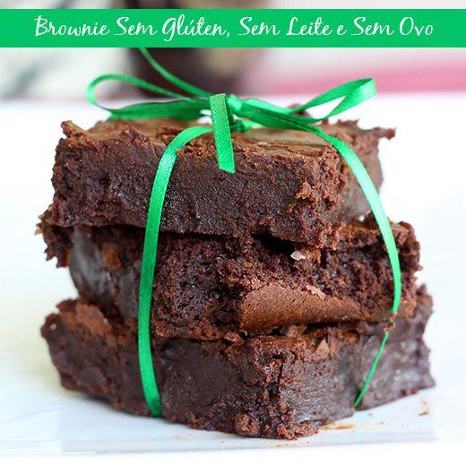 Receita de brownie para comer sem culpa!