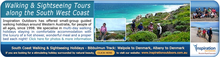 Albany Walking Tours with Inspiration Outdoors - Walk the Bibbulmun Track