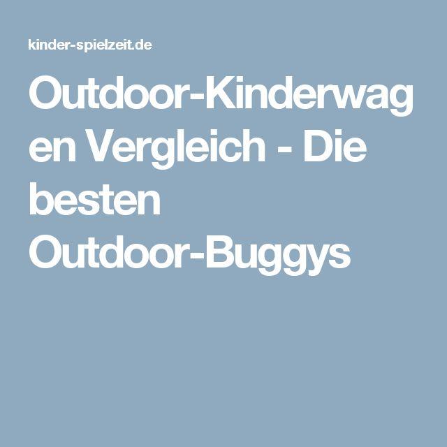 Outdoor-Kinderwagen Vergleich - Die besten Outdoor-Buggys