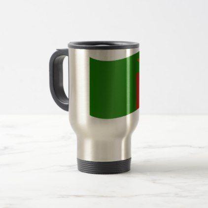 Zambia Flag Travel Mug - home gifts ideas decor special unique custom individual customized individualized