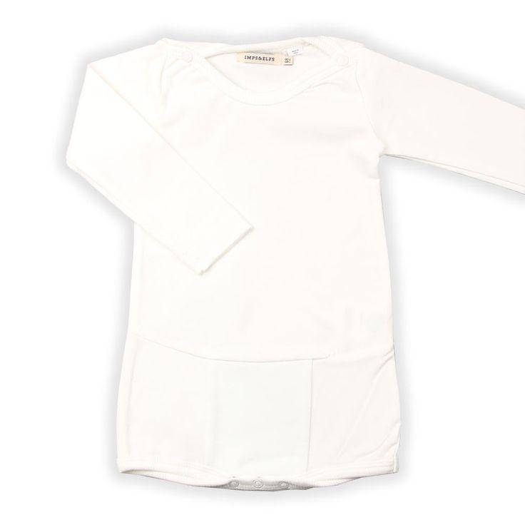 Newborn Babykleding Witte Romper | Imps en Elfs Nieuwe collectie | www.kienk.nl