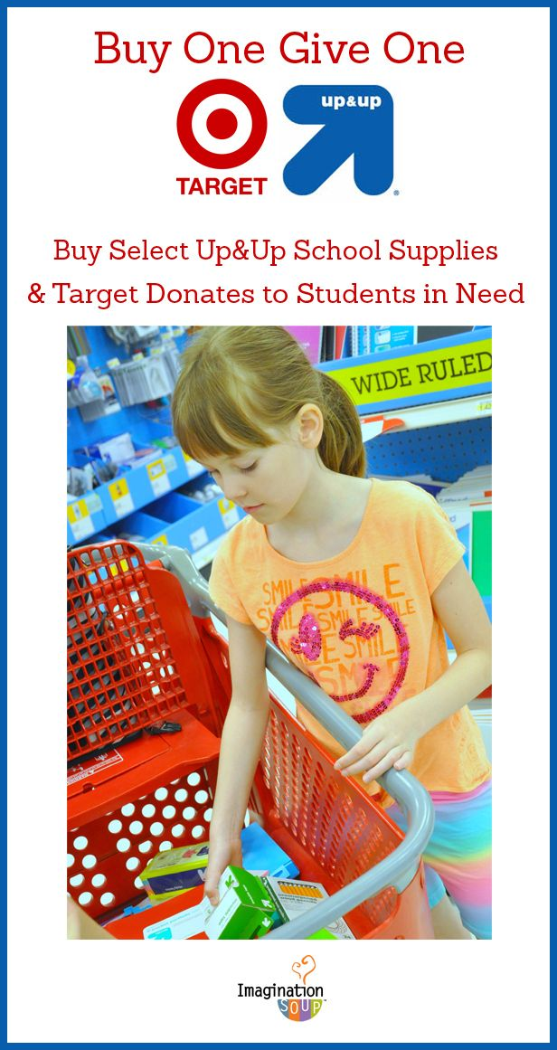 Tips for Back to School Shopping (and Helping Students in Need) - Imagination Soup Imagination Soup Fun Learning and Play Activities for Kids