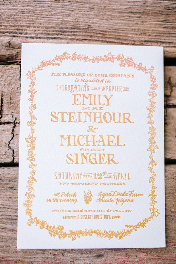 real simple unique wedding invitations%0A Arizona Rustic Farm Wedding