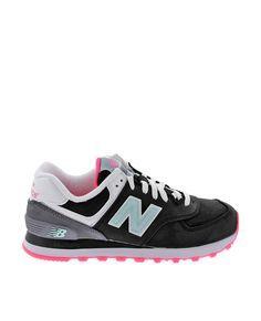 Zapatillas NEW BALANCE  negro WL574SLZ