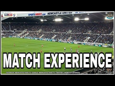 Match Experience   Newcastle United 0-1 Blackburn Rovers