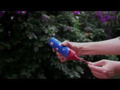 Este 4 de julio diviértete creando estos lanzadores de confetti con tus hijos. Solo necesitas rollos vacíos de papel higiénico, pintura, globos, confetti y cinta adhesiva. Se divertirán tanto creándolos como jugando con ellos.