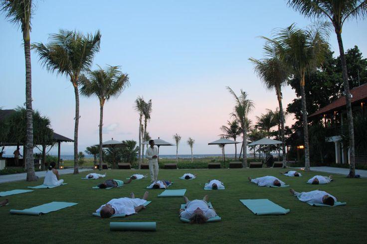 Yoga Class at Jeeva Saba Bali