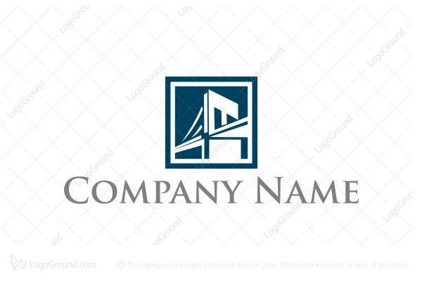 Blue Bridge Simple Logo