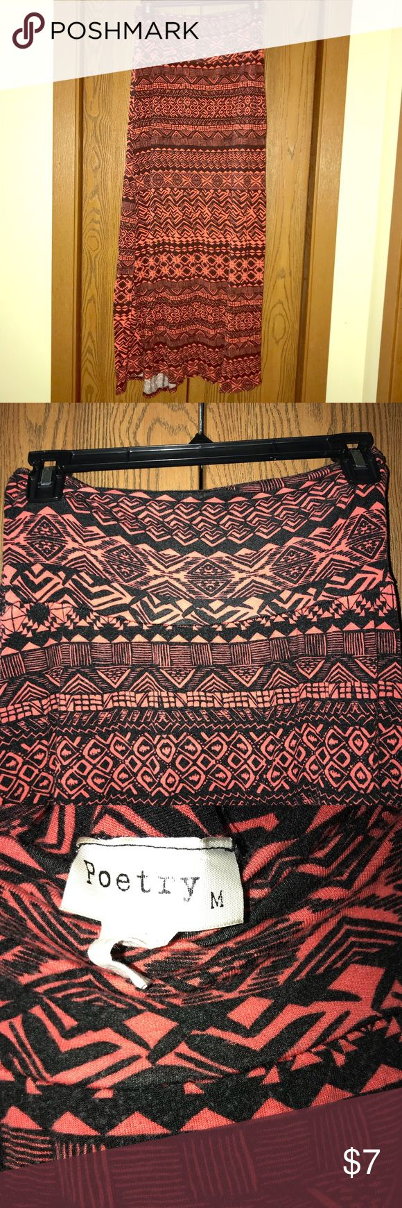 Maxi skirt Tribal maxi skirt, waist band can be fold down, very comfortable Poetry Skirts Maxi