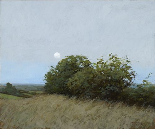Marc Bohne - Oil Landscape Paintings - Out Toward Bantry Bay, 10 x 12 inches, oil on panel