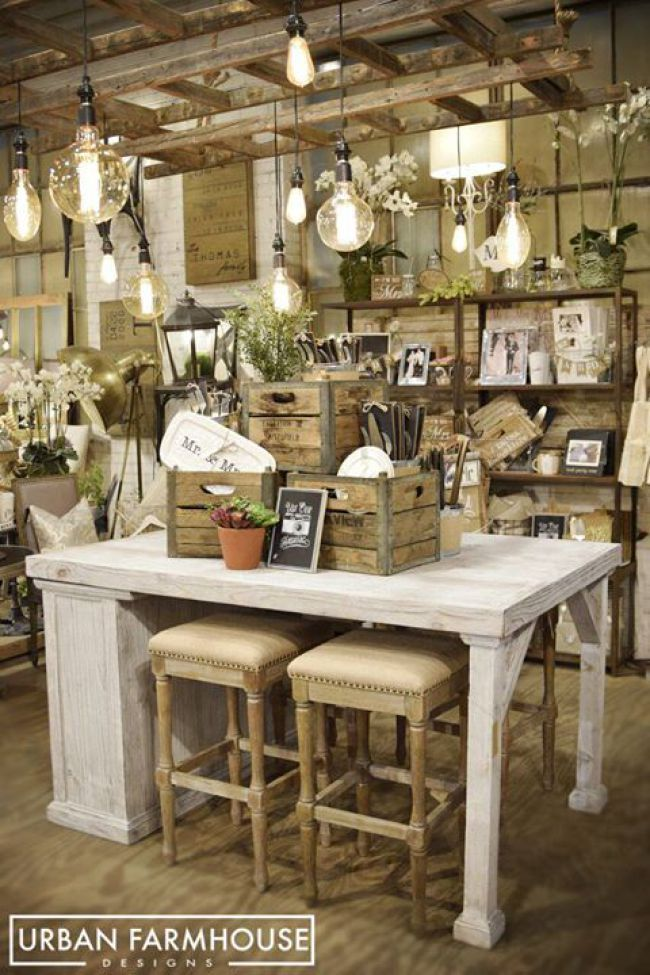 A Made For HGTV Story | Urban Farmhouse Designs.  This store's motto is Reclaimed Furniture Made by Reclaimed People!