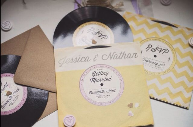 1950s inspired wedding stationery by Bonny and Clyde #wedding #bespoke #design #stationery #1950s