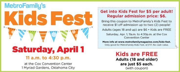 MetroFamily's Kids Fest: Oklahoma City's premier family fun event - Oklahoma City, OK