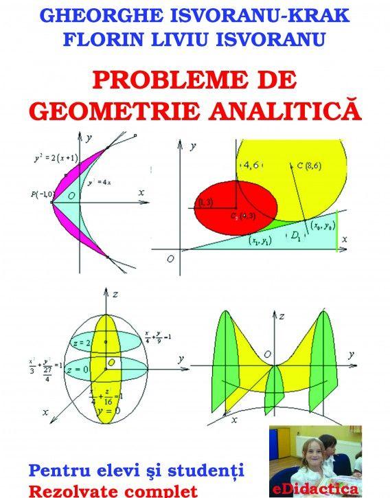 Probleme De Geometrie Analitica