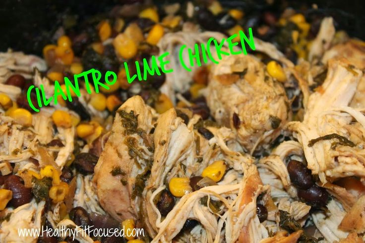 Clean eating cilantro lime chicken, www.healthyfitfocused.com