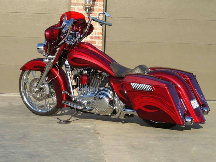 Found On Bing From Www Pinterest Com Custom Baggers Harley Bagger Bagger