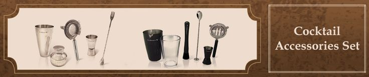 #Cocktail is on #fire. Get all the #accessories you might need to prepare your favourite #cocktails.