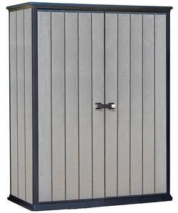 Keter High Store Garden Storage Shed - Grey.: Offering a cutting edge design, the Keter High Store Garden shed is a durable, maintenance…