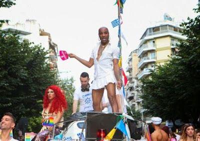 Λεσβίες Ομοφυλόφιλοι Αμφί Τρανς Κουίρ Ίντερσeξ και Ασeξουαλ παρελαύνουν στην Θεσσαλονίκη σήμερα
