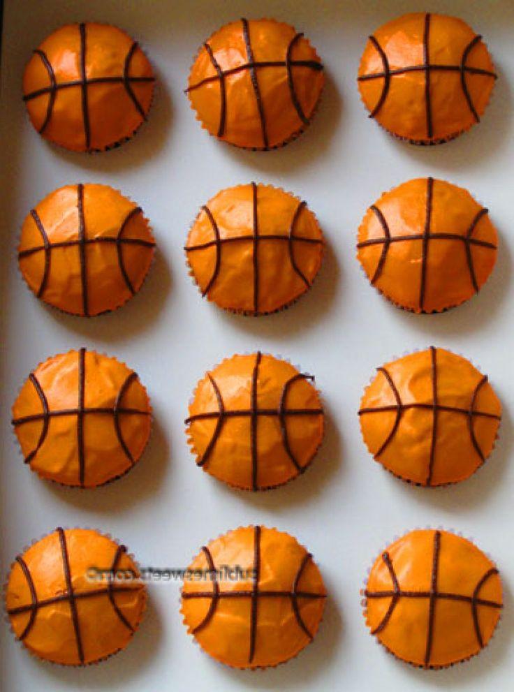 Basketball Cupcakes Ideas
