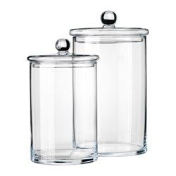 RYSSBY 2014 Jar with lid, set of 2 - IKEA