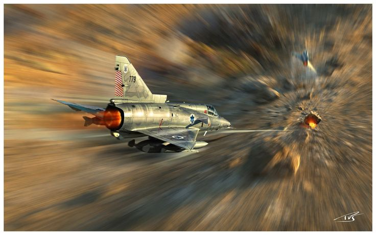 IAI Kfir attack by PetervanStigt.deviantart.com on @deviantART