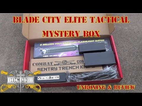 Blade City Elite Tactical Mystery Box Unboxing & Full Review - YouTube