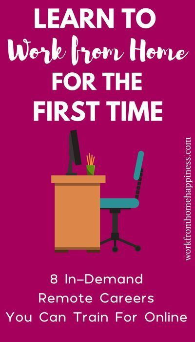 Learn How To Work From Home For The First Time
