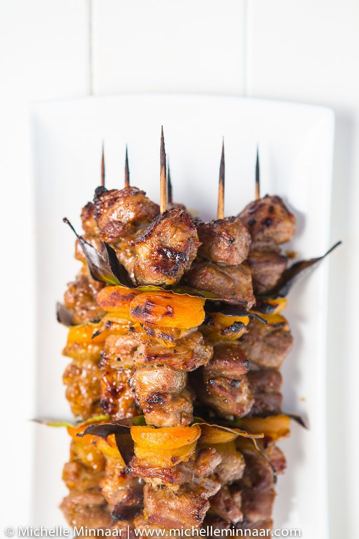 Lamb & Apricot Sosaties