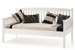 3ft Single Serene Eleanor Day Bed in Opal White