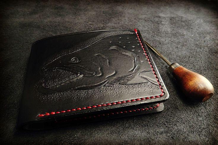 Arctic Char Wallet – Stanescu Leathercraft
