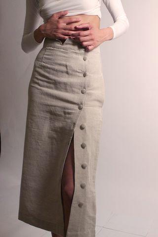 **PRE-ORDER** Transitional Skirt | Brown Sugar