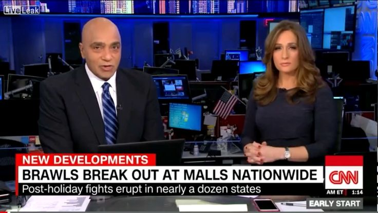 Cnn fear mongering the recent fights across the u.s.