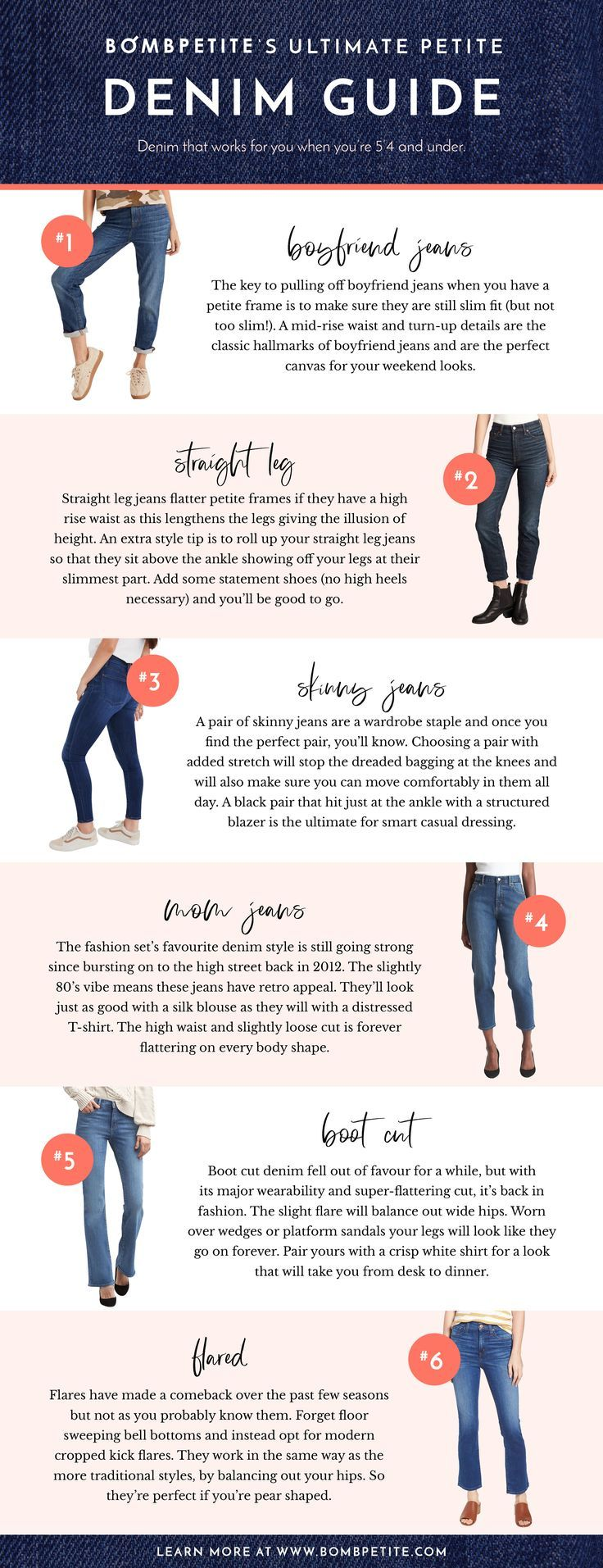 The definitive petite denim information