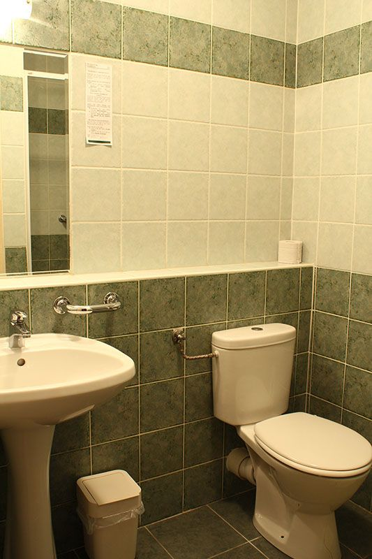 #Panzió fürdőszobáink egyike / One of our bathrooms in our #guesthouse