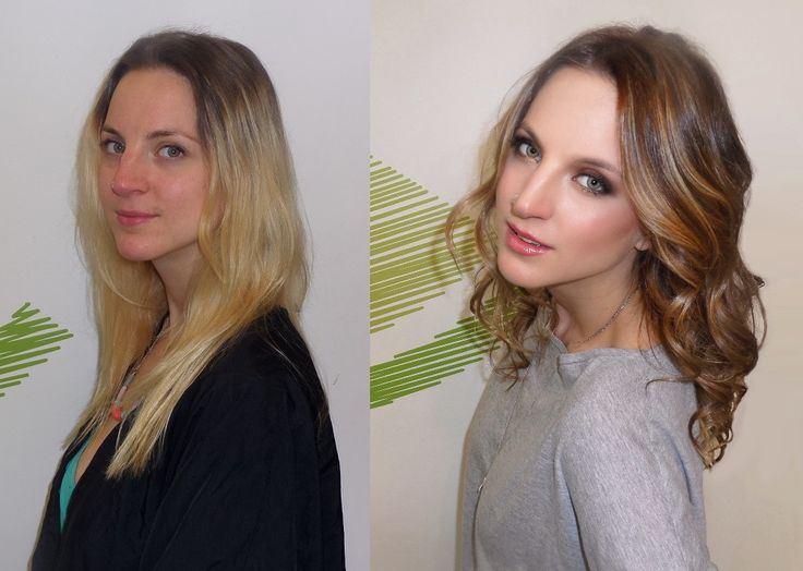 Out with the old summer hair and in with the new fall caramel blonde. Haircut and colour by Dimitra Bocolas