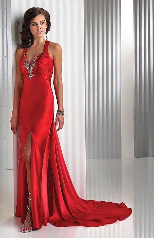 Red evening dresses sydney