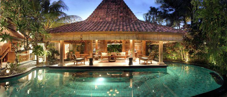 pool & joglo_oost indies villa