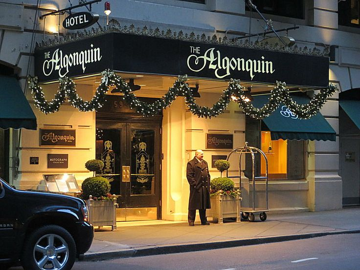 Algonquin Hotel, 59 West 44th Street, New York City. November 30, 2013.